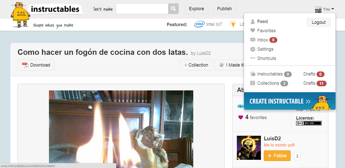 Picture of Crear Tu Instructable