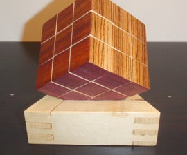 Wooden/Magnetic Rubik's Cube