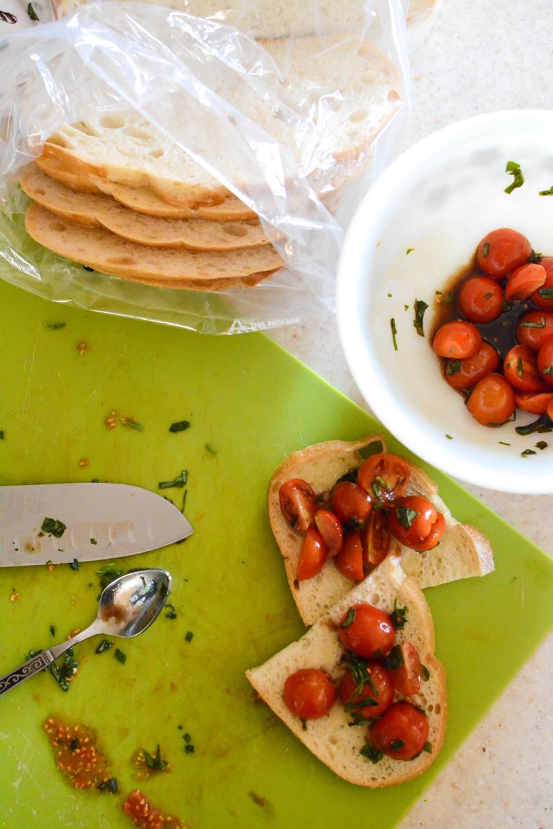 Picture of Farmers Market Bruschetta Toast