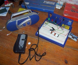 How to make the simplest AM transmitter