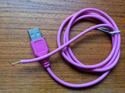 Prepare the USB Cable.