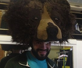Bear Head Costume