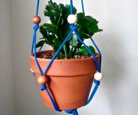 Paracord Plant Hanger