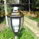 Automatic Multi Usage Garden Lamp ( 12w High Power Lamp, USB Charger With PIR Motion Sensor)