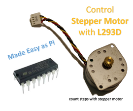 Controlling Stepper Motor With L293D