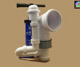Loud foghorn from plumbing parts