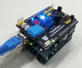 How to transfer Arduino sensor data to Blynk Server