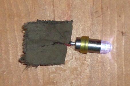Night Time Ammunition for the Aerosol Powered Paintball Gun