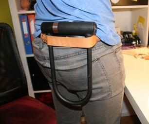 Easy Leather U-Lock Holster