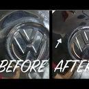 Classic VW Hub Cap Dent Removal