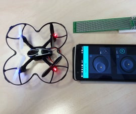 Control quadcopter from your phone in 30 minutes! [ESP8266 + A7105 + Blynk App for iOS/Android]