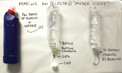 PART 1a: Making a LED Moser Light