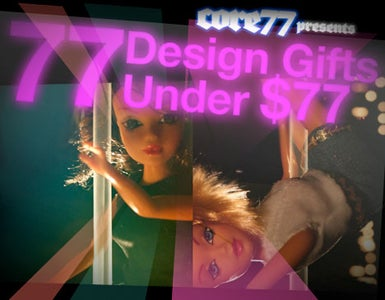 Core77 Holiday Gift Guide 2008:  77 Design Gifts Under $77!