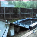 DIY Backyard Water Slide