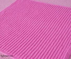 Easy SHORTCUT Brioche Baby Blanket