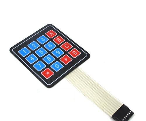 1PCS 4 x 3 Matrix Array 12 Keys 4*3 Switch Keypad Keyboard Module for Arduino LF