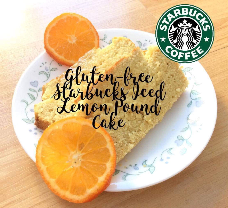 Picture of Gluten Free Starbucks Iced Lemon Pound Cake Copycat Recipe