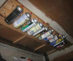 Spray Can, Etc, Rack