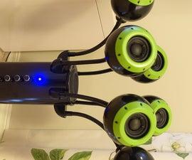 """Hydra"" a MONSTER Bluetooth Speaker!"