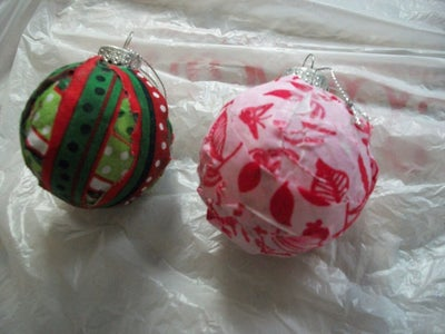 Thrifty Ornaments