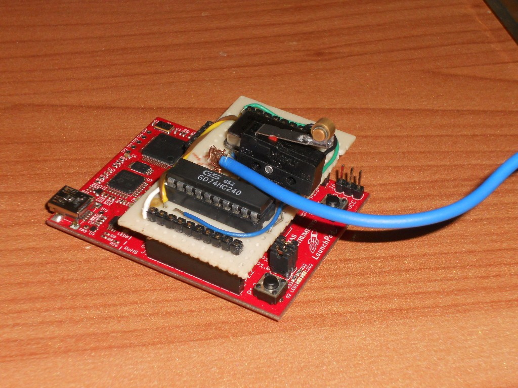 Picture of LaunchPad Serial Morse Transmitter