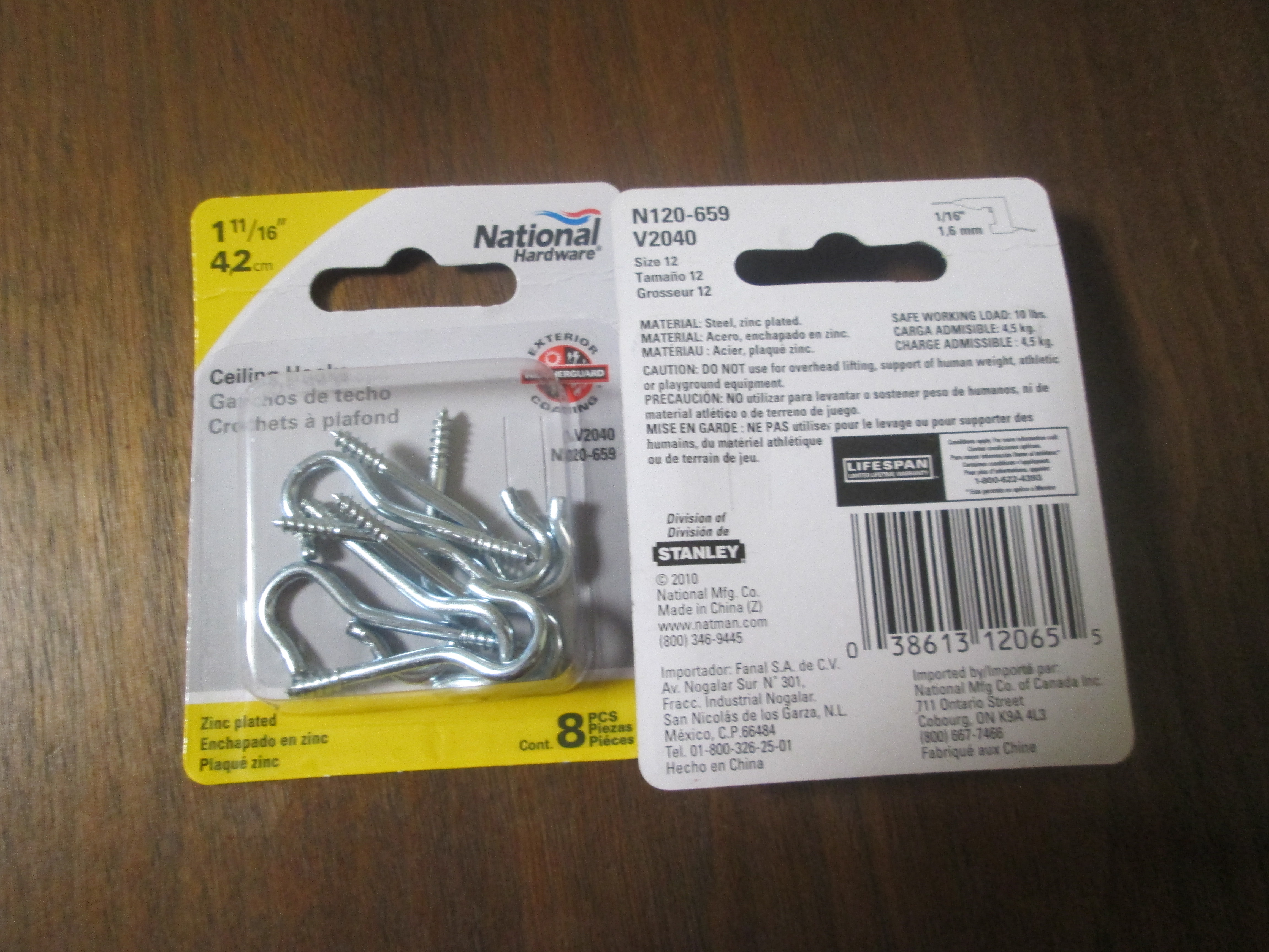 Picture of Purchase Hooks.