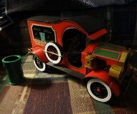 Electric Pulley Driven Mario Bros Model T.