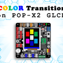 Color Transition on POP-X2 GLCD Using a Knob