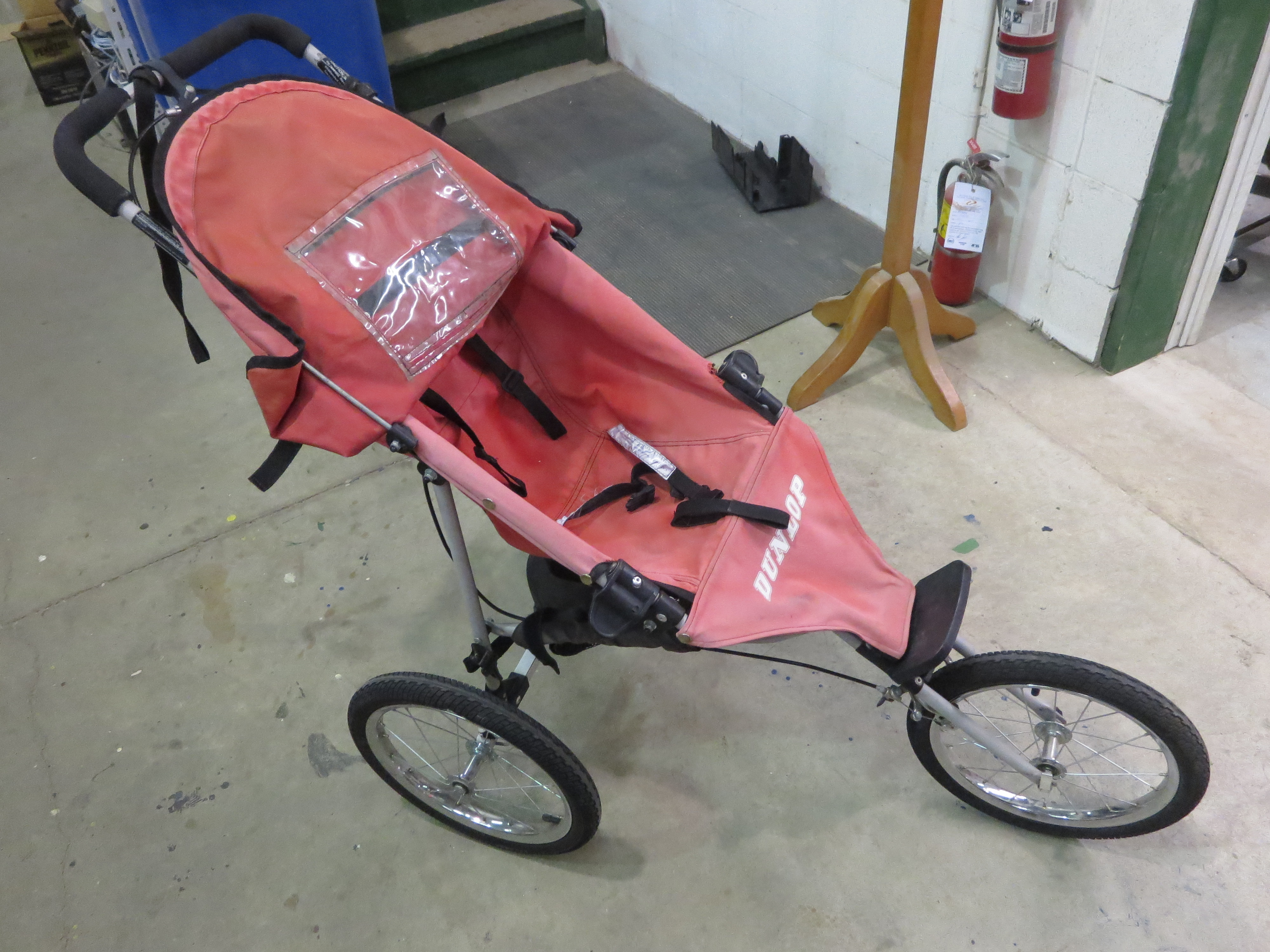 Picture of Find an Old Bike Trailer (or Jogging Stroller) and Take It to Your Workshop