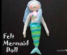 How to Make Felt Mermaid Doll