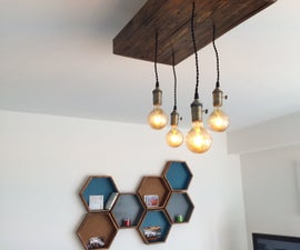 Make Your Own Industrial Chandelier