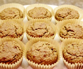 Fruit and Vegetable Muffins (gluten free)