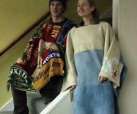 Beer-towel-poncho of usefulness!