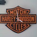 Simply Harley Davidson Clock