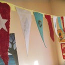 Easy No-Sew Felt Bunting