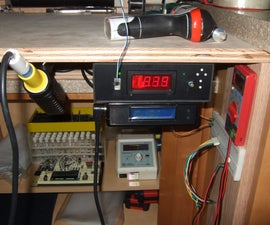 DIY, Under-the-Bench-Mounted Soldering Station