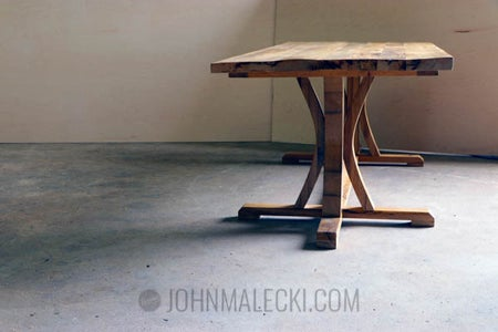 DIY Rustic Farmhouse Dining Table