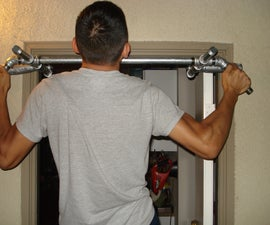 No Screws or Holes Pull Up Bar / Door Gym