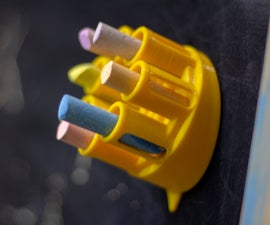 Magnetic Revolve Holder for Chalks or Pens