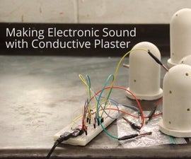 Making Electronic Sound With Conductive Plaster