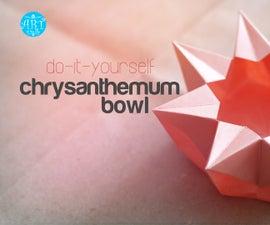 DIY : Chrysanthemum Bowl