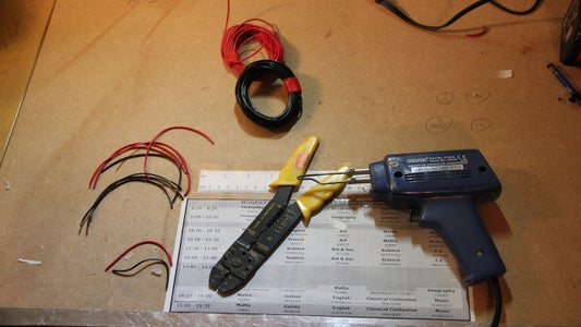 Making the Power Distrubution Cable