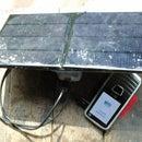 Carregador solar com saída USB (USB solar charger)