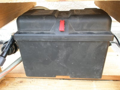Battery Box With Power Switch