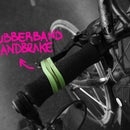Bicycle Rubberband Handbrake
