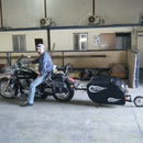 Motorcycle Single Tire Trailer