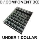 IC / COMPONENT STORAGE BOX UNDER 1 DOLLAR