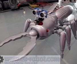 Make a scary scarab robot