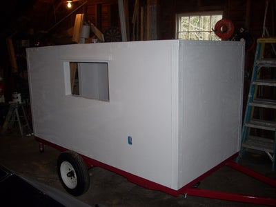 Painting the Trailer
