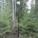 Simple outdoor lamppost